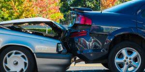 Ongeluk met de auto