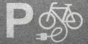 Accu van elektrische fiets of e-bike opladen