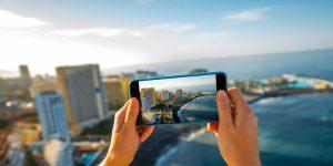 Vakantiefoto's maken met smartphone of mobiel