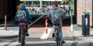 Nieuwe fiets, nieuw schooljaar