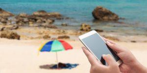 Smartphone als onmisbare gadgets op vakantie