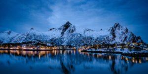 Traditionele verlichting maakt plaats voor dynamische straatverlichting in Noorwegen