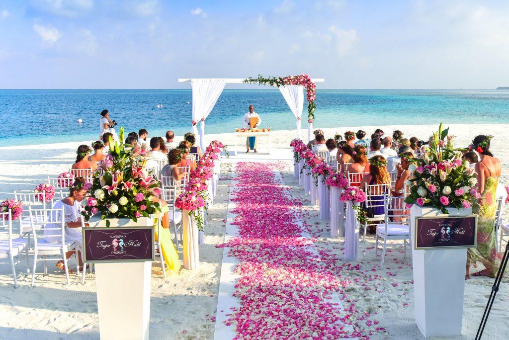 Populairste landen om te trouwen in het buitenland