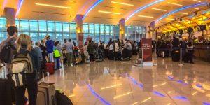 Eén van de drukste vliegvelden ter wereld: Atlanta-Hartsfield-Jackson.