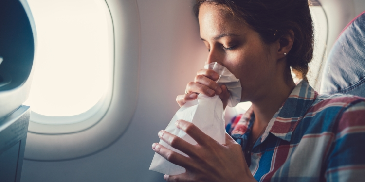 Overgeven door luchtziekte? Lees deze tips
