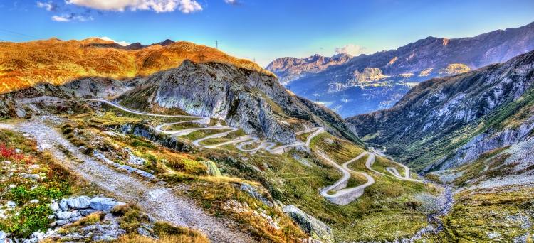 Gotthardpas: Via Tremola
