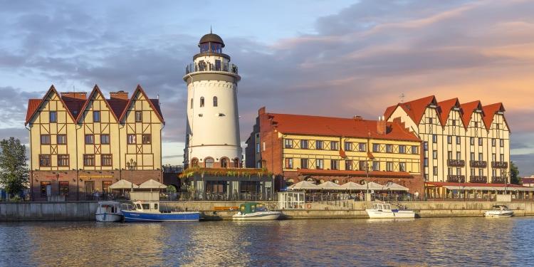 Kaliningrad, authentiek vissersdorp van Rusland