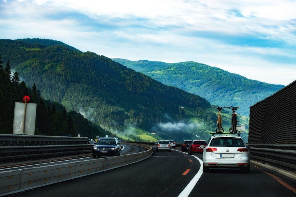 Geen drukte op de Duitse snelweg