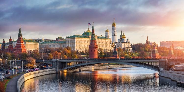 Rusland - Moskou vanaf het water