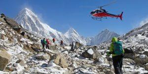 Medische kosten in het buitenland: wat kost een helikoptervlucht?