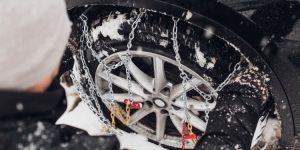 Sneeuwkettingen gebruiken in het buiteland