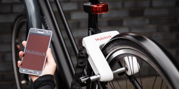 Digitaal fietsslot van Mobilock