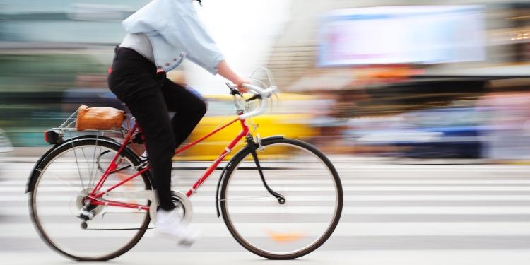 Boetes tijdens het fietsen
