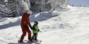 Skileraar in het buitenland