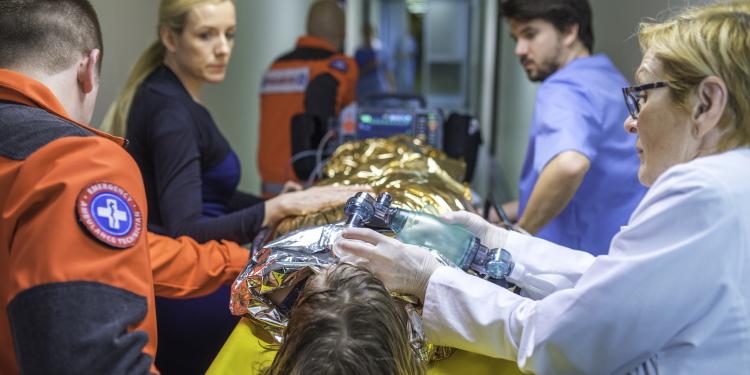 Met onderkoeling naar het ziekenhuis