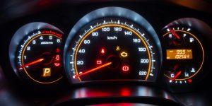 Dashboardlampjes branden bij starten van auto