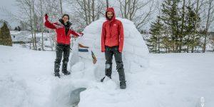 Isolatie: iglo bouwen
