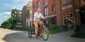 Bijzondere fietsen: fiets veilig op een driewieler