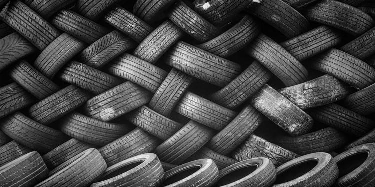 Milieuvervuiling door slijtage van autobanden